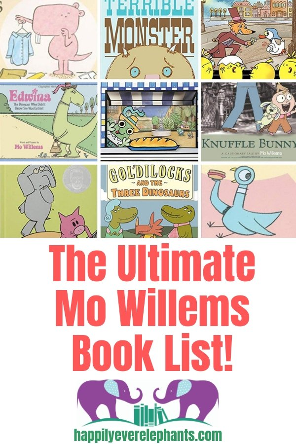 The Ultimate Mo Willems Book List - Get your kiddos laughing in no time with these fantastic stories!
