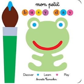 Interactive Books for Babies, mon petit busy day