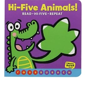 Interactive Books for Babies, Hi-Five Animals