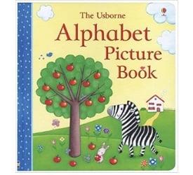 Alphabet Books for Toddlers, The Usborne Alphabet Picture