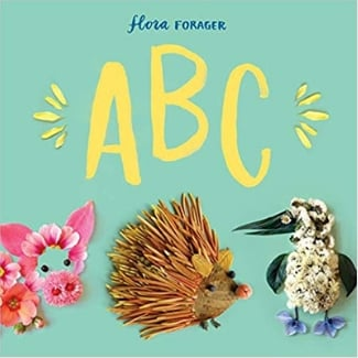 alphabet books for toddlers, Flora Forager ABC