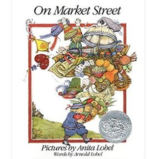 alphabet books for toddlers, On Market Street