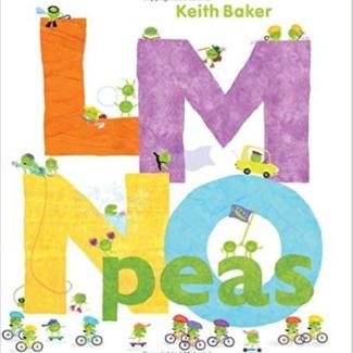 Alphabet books for toddlers, LMNO Peas