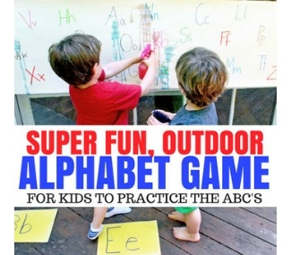 Alphabet books for toddlers!