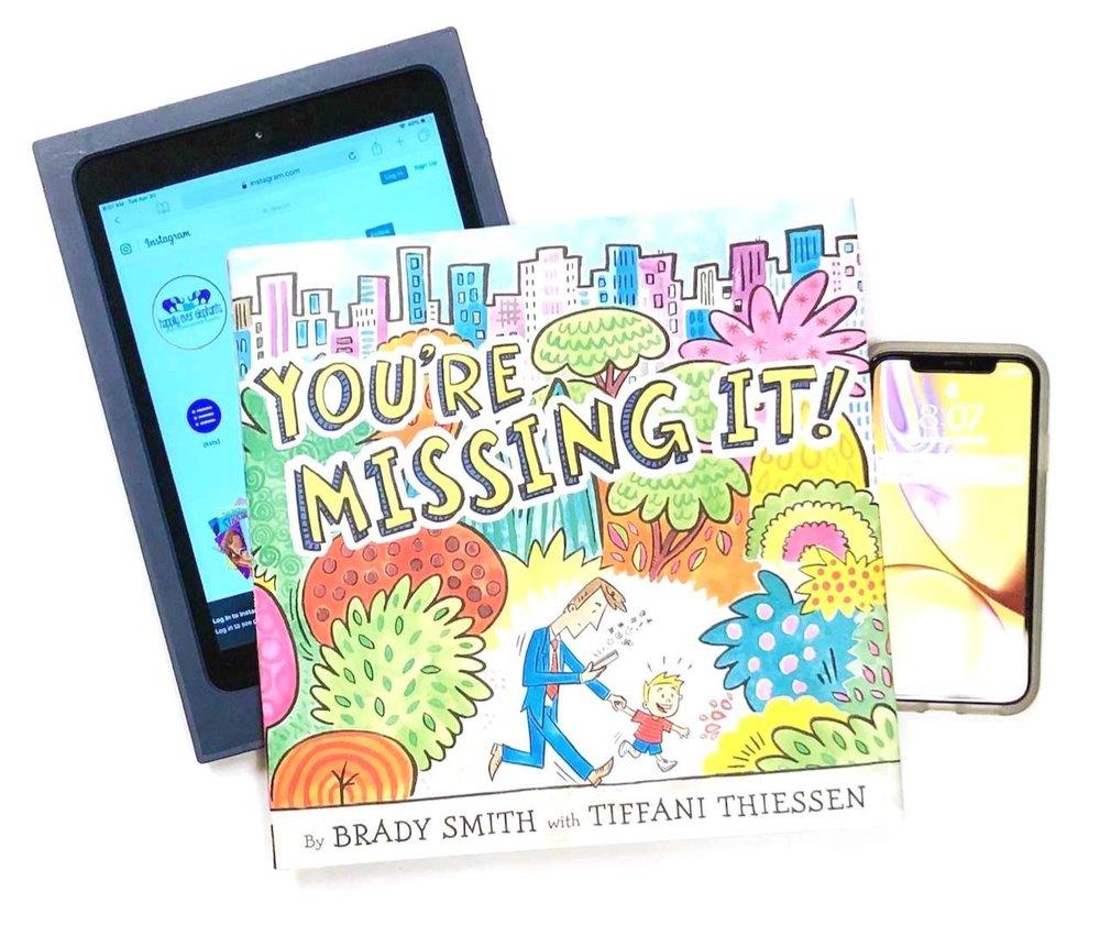 Tiffani Thiessen Children's Books, You're Missing It