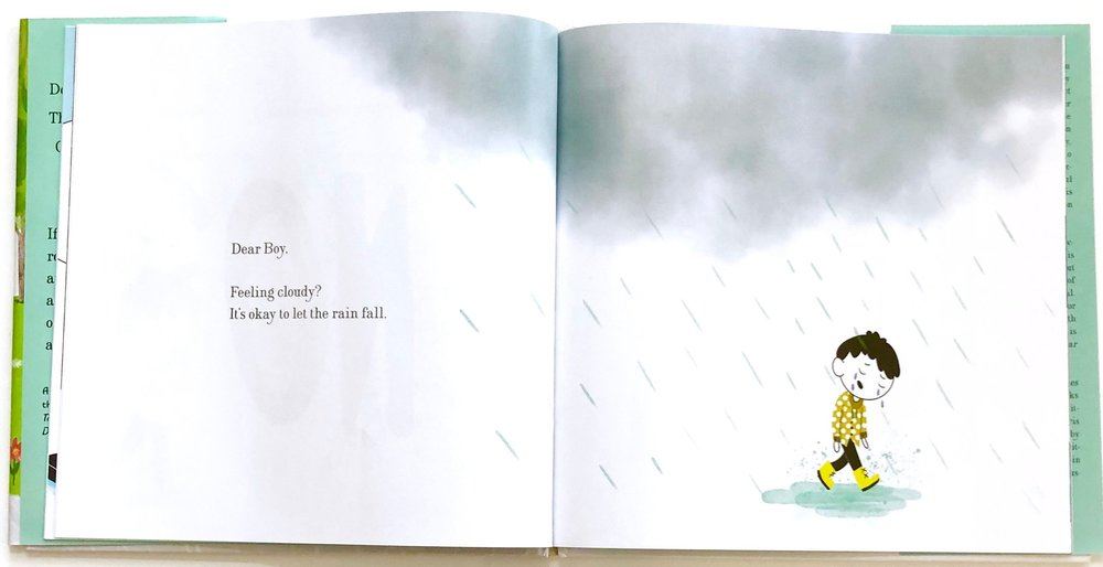 Books for Little Boys, Dear Boy, by Paris Rosenthal and Jason Rosenthal and illustrated by Holly Hatem