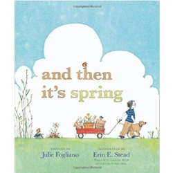 Spring Books for Children, And Then it's Spring