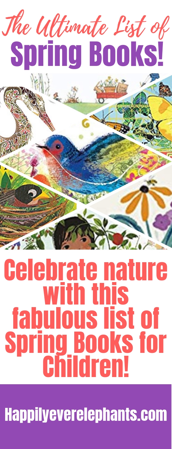 Spring Books for Children, the essential list of for your kids!