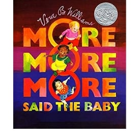 Diverse Baby Books More More More Said the Baby