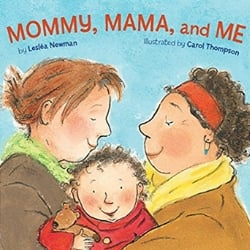 Diverse Baby Books Mommy Mama and Me