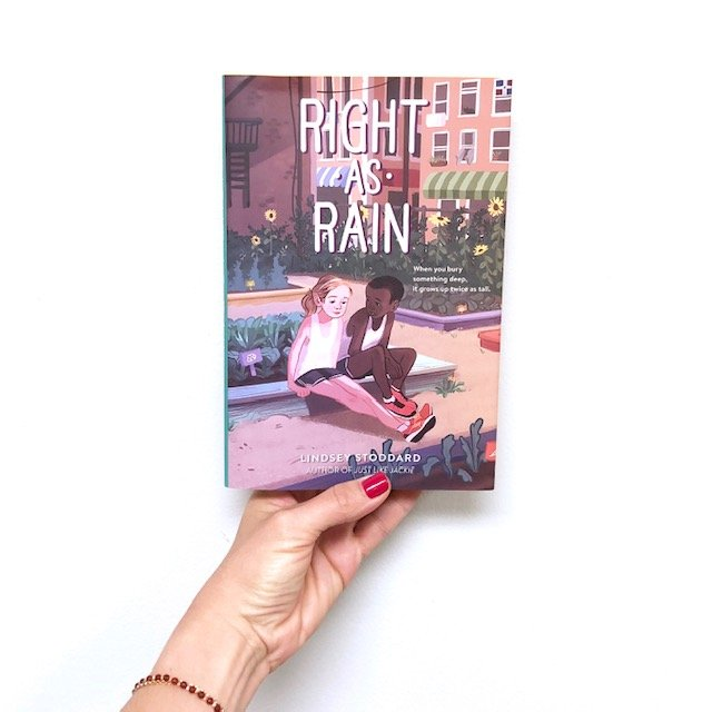 Novels for Tweens, Right as Rain by LIndsey Stoddard