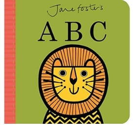 Best Board Books, jane Foster's ABC