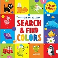 Best Board Books for Teaching Toddlers colors Search and Find Colors