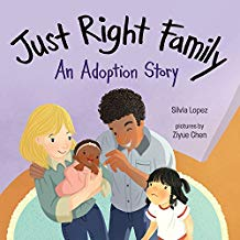 Children's Books About Family Diversity, Just Right Family An Adoption Story