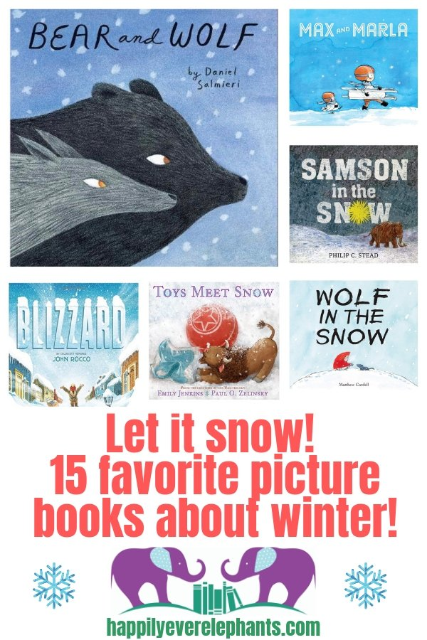 Our Favorite Winter Books for kids!