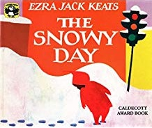 Winter books for kids, The Snowy Day by Ezra Jack Keats