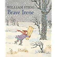 Winter Books for kids, Brave Irene William Steig