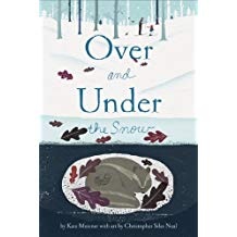 Winter books for kids, over and under the snow