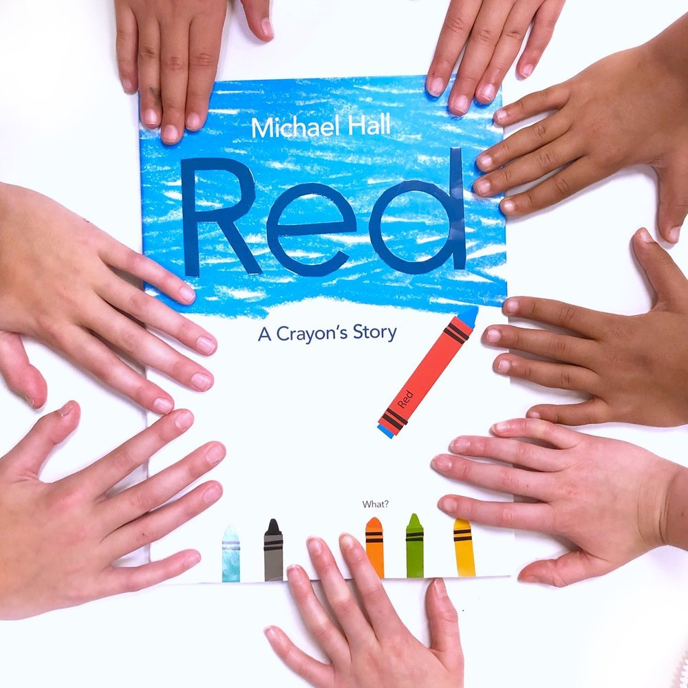 self esteem books for kids: Red, A Crayon's Story, one of our favorite children's books.