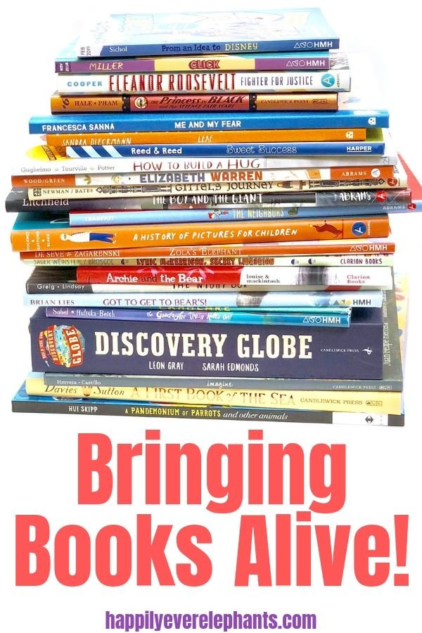 Elevate your read-alouds and deepen your child's takeaway experiences by bringing books alive!