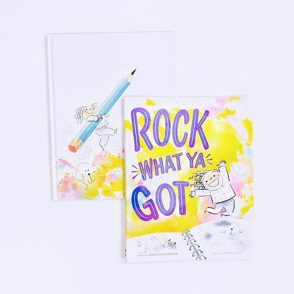 Self confidence books, including Self esteem books for kids , Rock What Ya Got.