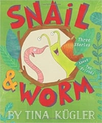 easy chapter books and 1st grade books, Snail and Worm