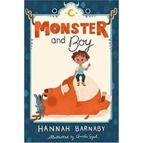 easy chapter books, monster and boy