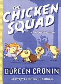 easy chapter book and 1st grade book, The Chicken Squad