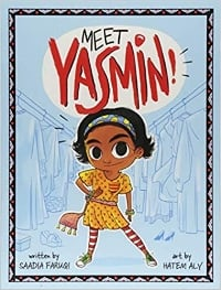Easy Chapter Book and 1st grade book, Meet Yasmin!