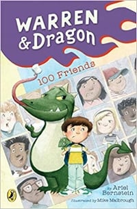 Easy chapter books and 1st grade books, Warren and Dragon