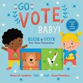 Children's Books about voting, go vote baby.jpg