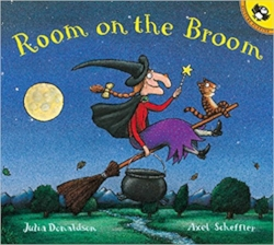 Children's Books About Monsters, Room on the Broom