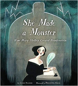 Children's Books About Monsters, She Made a Monster
