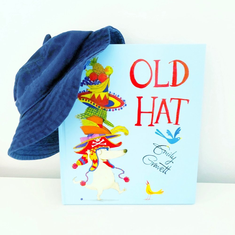 Self esteem books for kids, Old Hat by Emily Gravett, an awesome self confidence book for your little kids