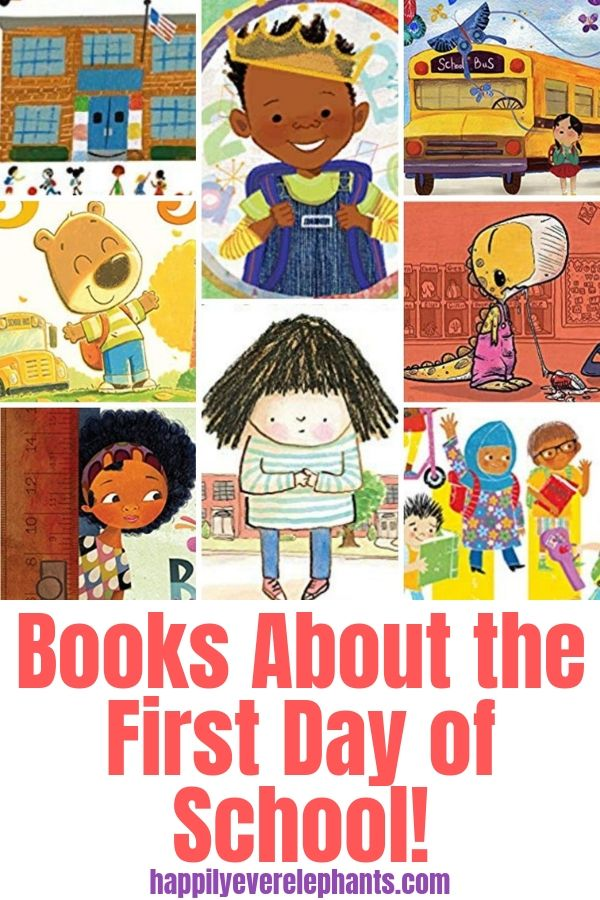 The Ultimate List of First Day of School Books!