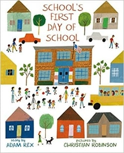 First day of school books, School's First Day of School