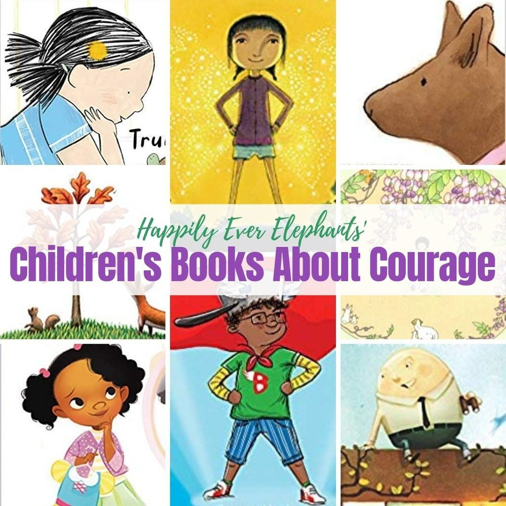 Children's Books About Courage!