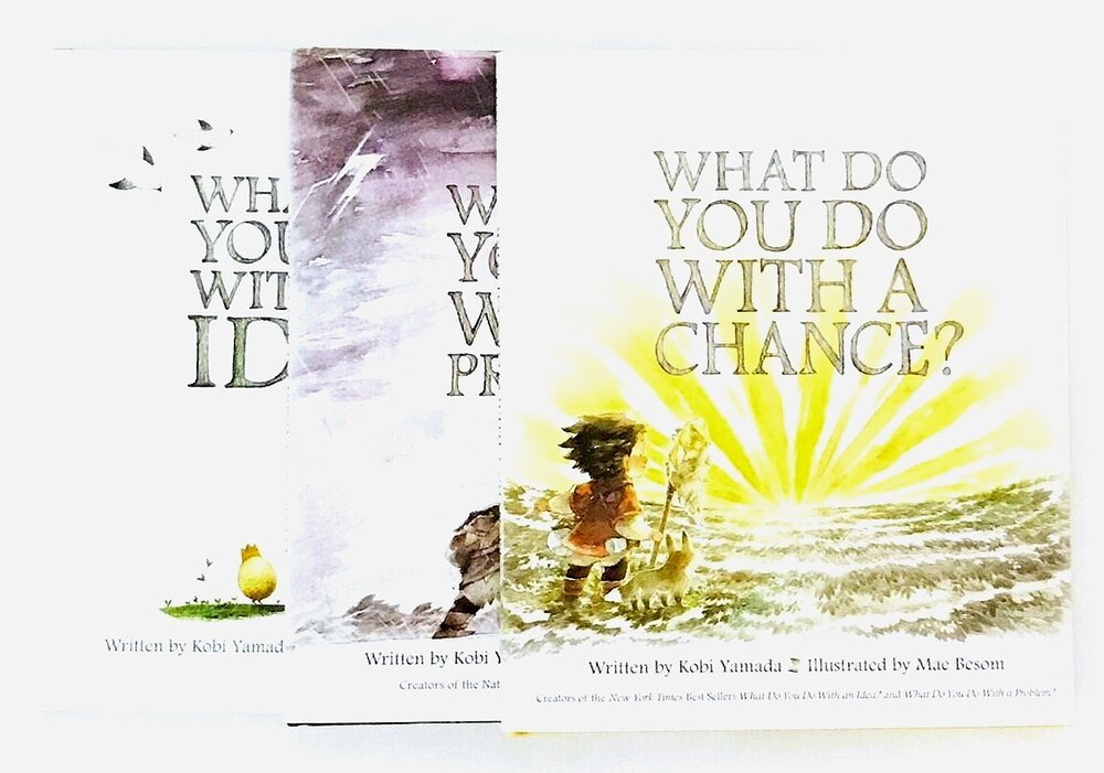 what do you do with a chance, by kobi yamada