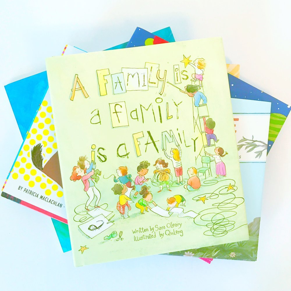 Best books about Family Diversity and Alternative Family Structures A Family is a A Family is a Family by Sara Oleary and illustrated by Qin Leng
