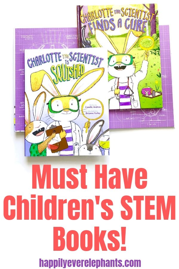 Charlotte the Scientist by Camille Andros and Brianne Farley, popular kids STEM books