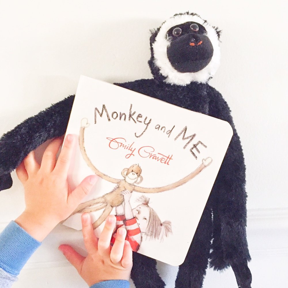 Monkey and Me, best board books and best books for two year old