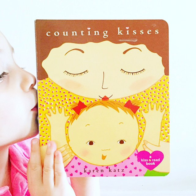 Best Board books and concept books, Counting Kisses