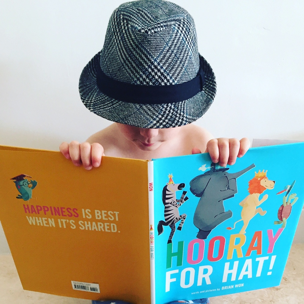 Best Board books and best books for two year olds, Hooray for Hat