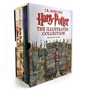 little bookworms bookish gifts, Harry Potter Illustrated Collection.jpg