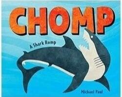 nonfiction animal books, chomp a shark romp.jpg
