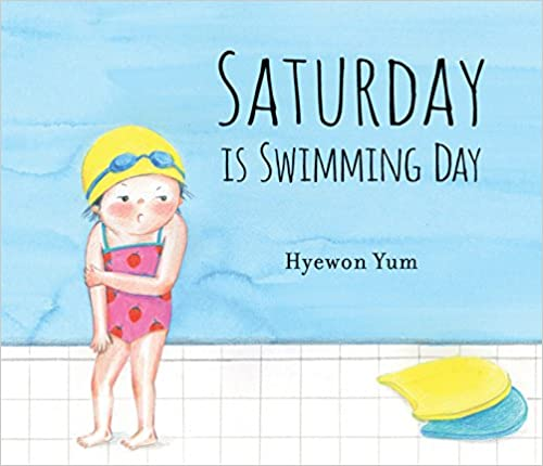 Kids-Books-About-Summer-Saturday-is-swimming-day